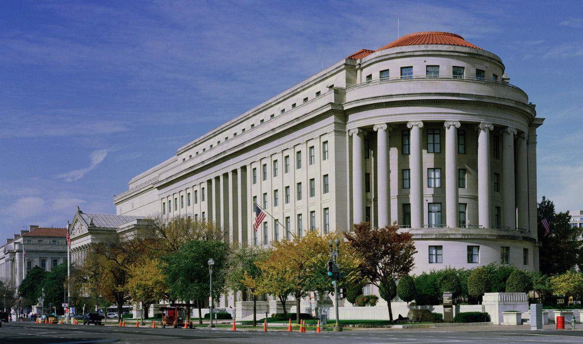 FTC headquarters in D.C. (Highsmith Collection via Wikimedia Commons; Public Domain)